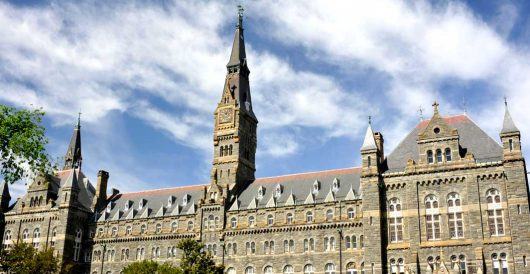Georgetown law professor fired for telling the truth by Hans Bader