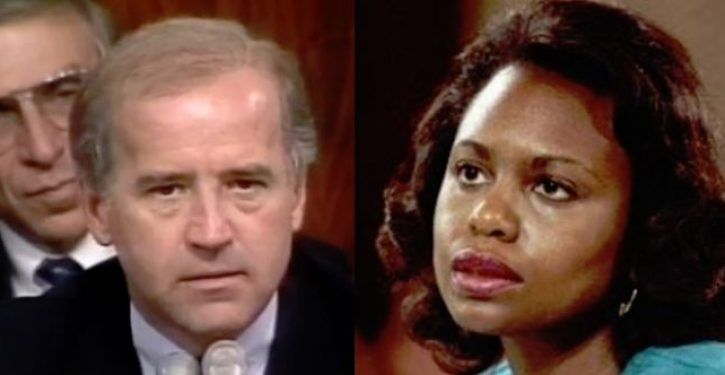 Although he's apologized, Joe Biden doesn't think he mistreated Anita Hill