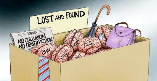 Cartoon of the Day: Lost it by A. F. Branco