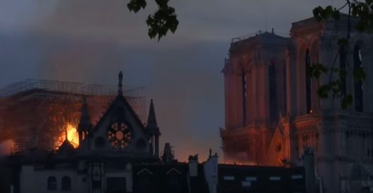 Notre Dame Cathedral in Holy Week by J.E. Dyer