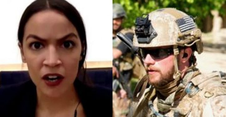 Ocasio-Cortez asks decorated Navy SEAL why he doesn't 'go do something' about terrorism