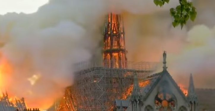 Investigators eye electrical fault as source of Notre Dame fires