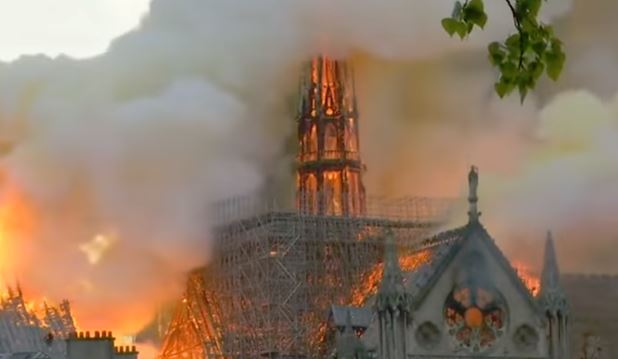 Again with the 'worshipers': First Mass since Notre Dame fire has many features, but apparently not 'Christians'