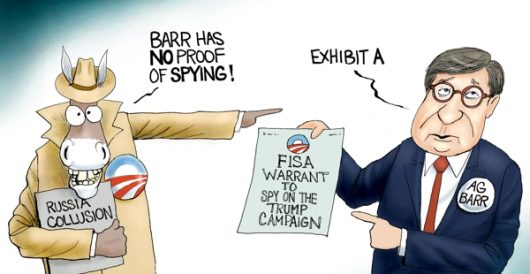 Cartoon of the Day: The spy who hated me by A. F. Branco