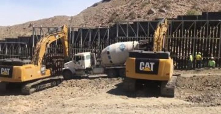 Section of border wall was just built through private funding in New Mexico