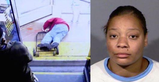 Horrific: Video shows bus passenger pushing elderly man to his death by LU Staff