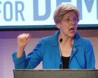 Yes, Virginia, there is an Elizabeth Warren action figure