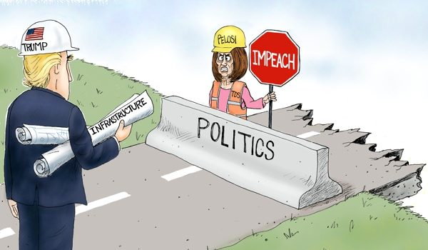 Cartoon of the Day: Obstruction by A. F. Branco