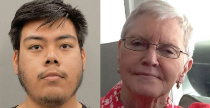 Illegal alien tortures elderly woman to death: Media silent