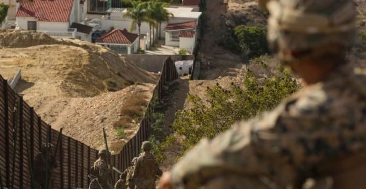 U.S. Marine attacked by unidentified individuals while on border surveillance mission