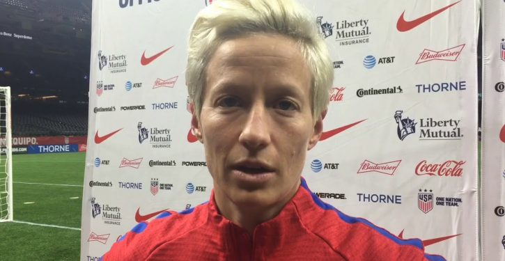 Presidential wannabe says he'll ask soccer player Megan Rapinoe to be secretary of state