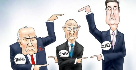 Cartoon of the Day: Three Stooges by A. F. Branco