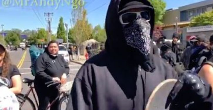 Portland police chief calls for anti-mask law for Antifa protesters