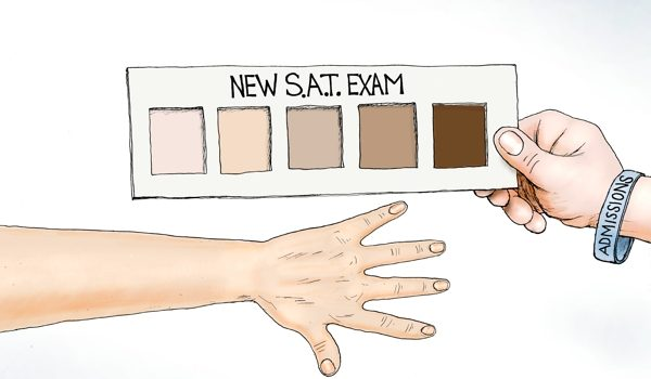 Cartoon of the Day: Skin deep by A. F. Branco