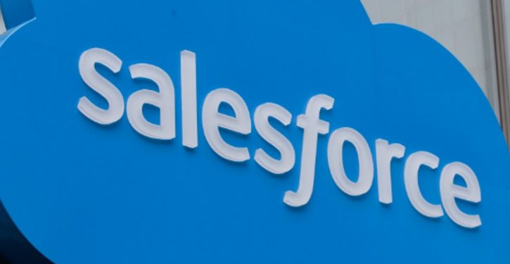 Software giant Salesforce to ban some gun retailers from using the company's product