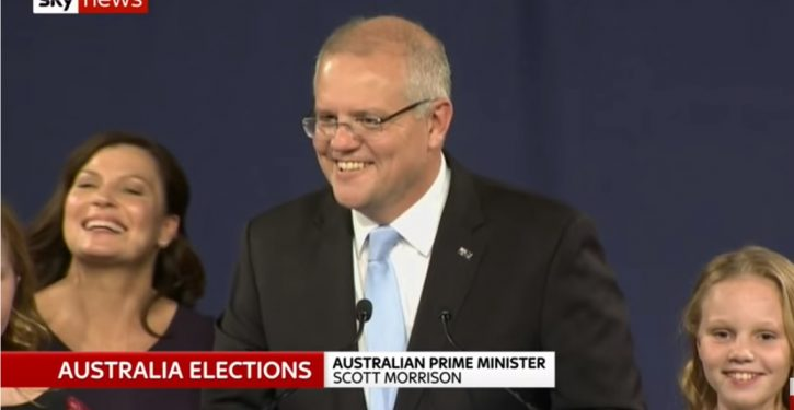 Australia: Conservative (Liberal-National) coalition racks up surprise victory
