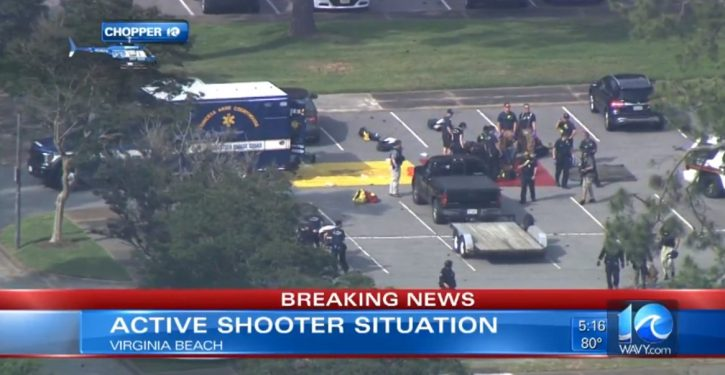 BREAKING: Shooting in Virginia Beach; 11 killed, 6 injured; shooter dead