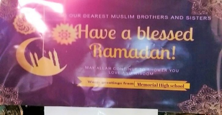 N.J. public school district to students: 'May Allah continue to shower you love and wisdom'