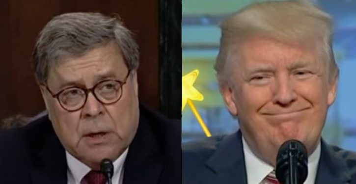 AG Barr: Trump's tweets 'make it impossible for me to do my job'