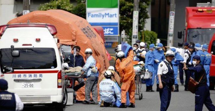 2 dead as man stabs 16 schoolgirls, 2 adults in rampage near Tokyo
