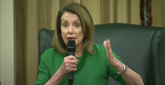 Pelosi has the chutzpah to say Trump's aides, family need to stage an 'intervention' by LU Staff