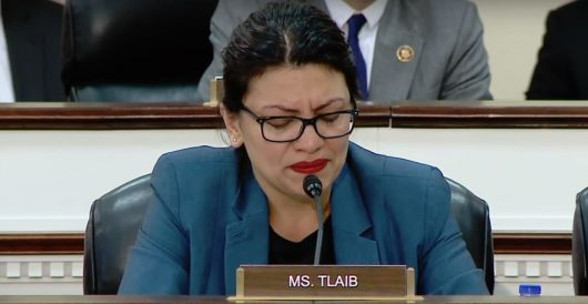 Rashida Tlaib reduced to tears reading Muslim hate mail during house hearing by Rusty Weiss