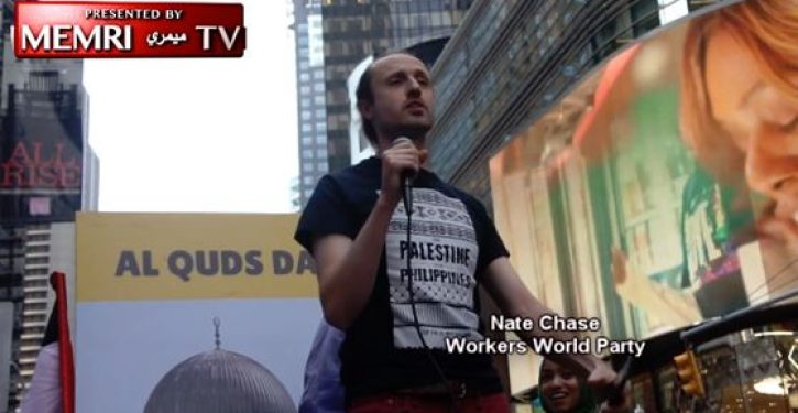 Palestinians celebrate Al Quds Day in NYC, Toronto by calling for death to Jews