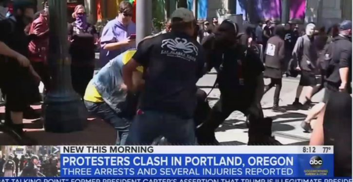 Antifa attacks journalist in Portland; progressives mock victim