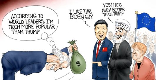 Cartoon of the Day: World stooge by A. F. Branco