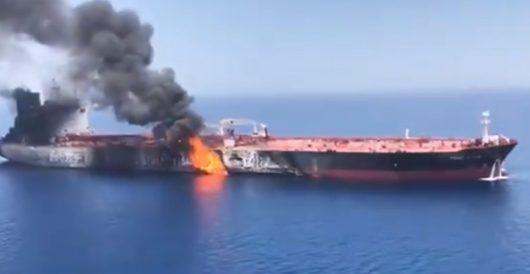 Escalation: Iran fingered in new attacks on oil tankers; U.S. destroyer renders aid, rescues 21; *UPDATE* Video of Iran taking mine off vessel by J.E. Dyer