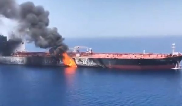 Op-ed at Bloomberg suggests tanker attacks this week, blamed by U.S. on Iran, were false flag by Daily Caller News Foundation