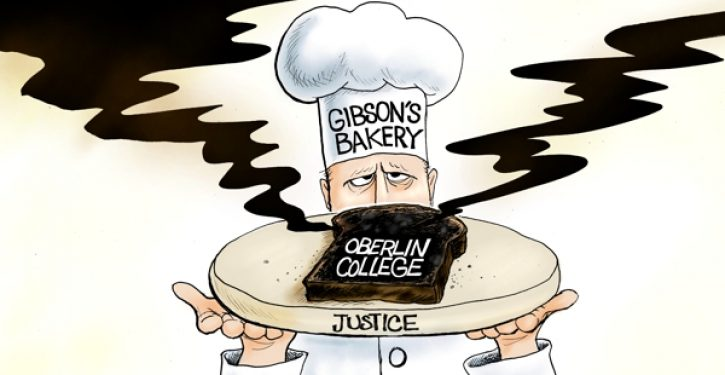 Oberlin College claims poverty to avoid paying punitive damages to Gibson's Bakery