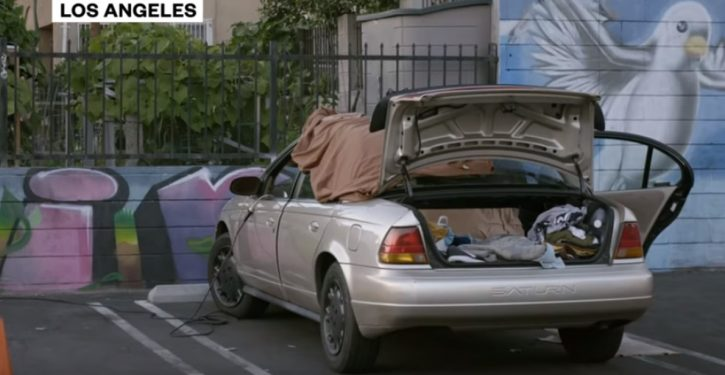What California sees as a problem: Counties that don't offer 'safe parking' lots for homeless