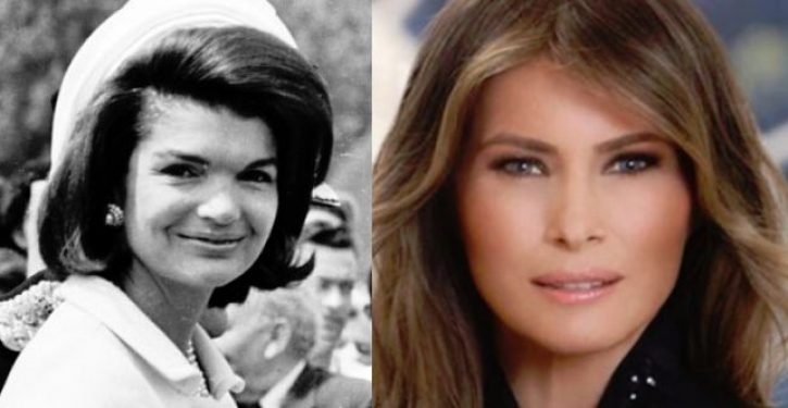 Trump compares Melania to Jackie Kennedy, gives her new nickname, melts internet
