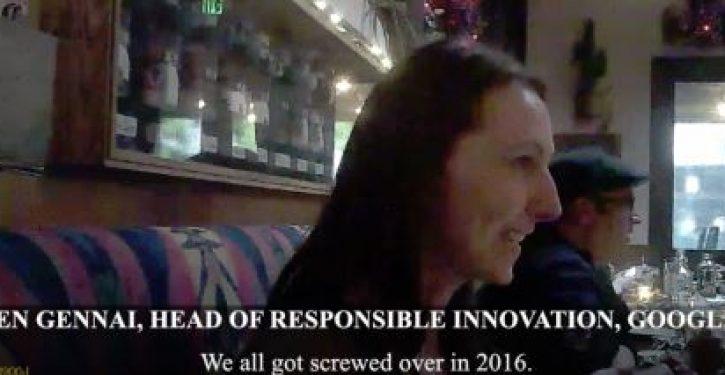 Hidden cam shows Google exec revealing plan to prevent Trump victory in 2020