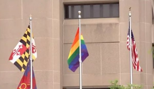 Government building in Maryland replaces POW/MIA flag with 'pride' flag by Ben Bowles