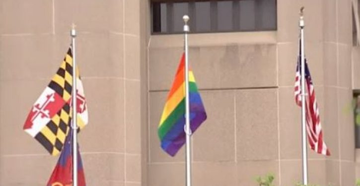 Government building in Maryland replaces POW/MIA flag with 'pride' flag