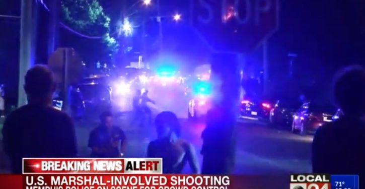 High alert, officers injured in Memphis unrest after armed fugitive killed by police