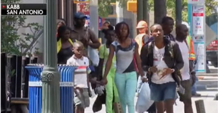 African migrants arrive in San Antonio with 'rolls of $100 bills'