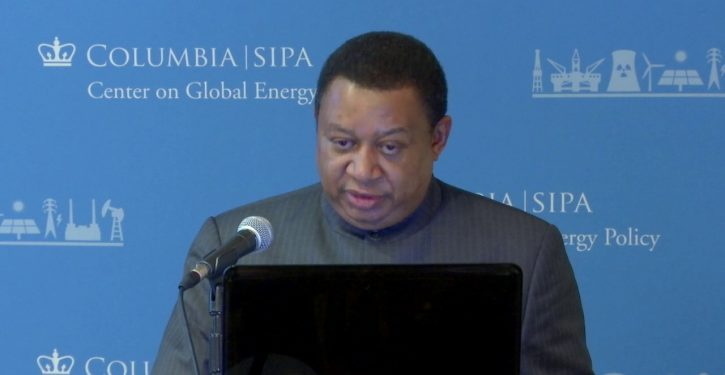The OPEC head who wants to talk to everybody
