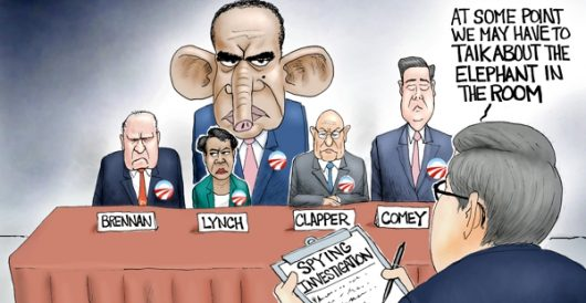 Cartoon of the Day: Hiding in plain sight by A. F. Branco