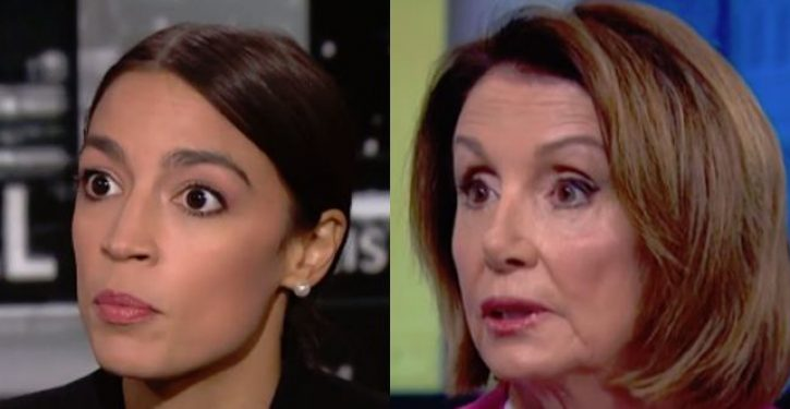 Ocasio-Cortez accuses Pelosi of 'persistent singling out' of women of color