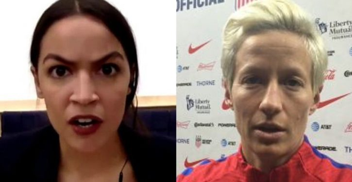 Perfect: Rapinoe isn't 'going to the f**king White House'; she'll visit Ocasio-Cortez instead