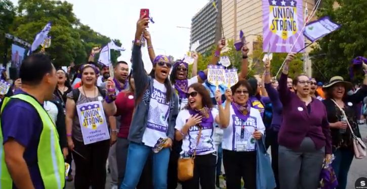 Democrats push federal legislation to override state right-to-work laws