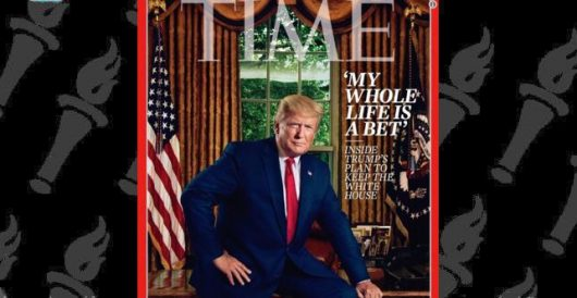 Image of the Day: What about this Time magazine cover has the Left up in arms? by Joe Newby