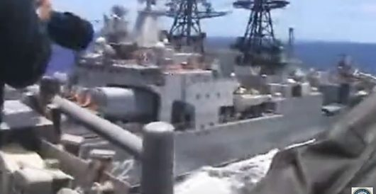 Russian destroyer egregiously violates Incidents at Sea agreement in USN encounter by J.E. Dyer