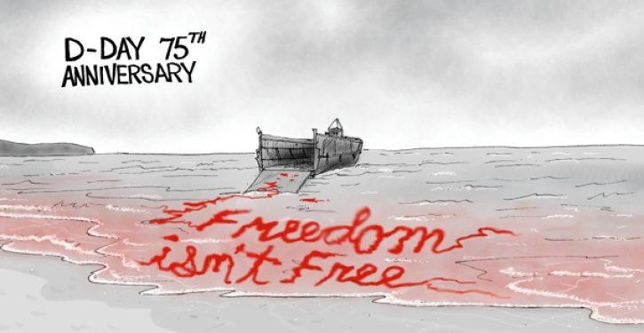 Cartoon bonus: D-Day 75th Anniversary