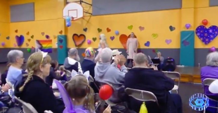 Disturbing video of children's drag show, with touchy-feely adults surfaces