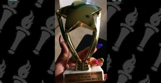 Teacher gave 'most annoying male' trophy to 11-year-old non-verbal autistic child by LU Staff