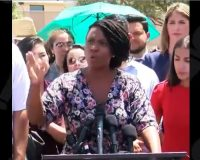 'Squad' member Pressley on migrant detention centers: If people don't 'see the light,' 'we will bring the fire'